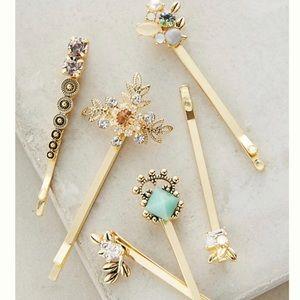 Anthropologie Galantries Hair Pin Set